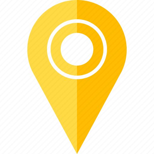 find, locate, pin, point, target icon