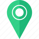 direction, find, locate, pin icon