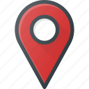 geolocation, location, map, pin icon