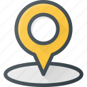geolocation, pin, area, map, location, position icon