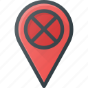 error, geolocation, location, map, pin icon