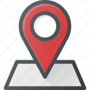 geolocation, location, map, pin, position