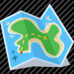 destination, direction, map, route icon