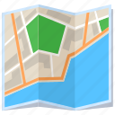 city, location, map, street icon
