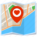 city, location, map, pin icon
