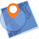 destination, gps, location, map icon