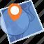 destination, gps, location, map icon