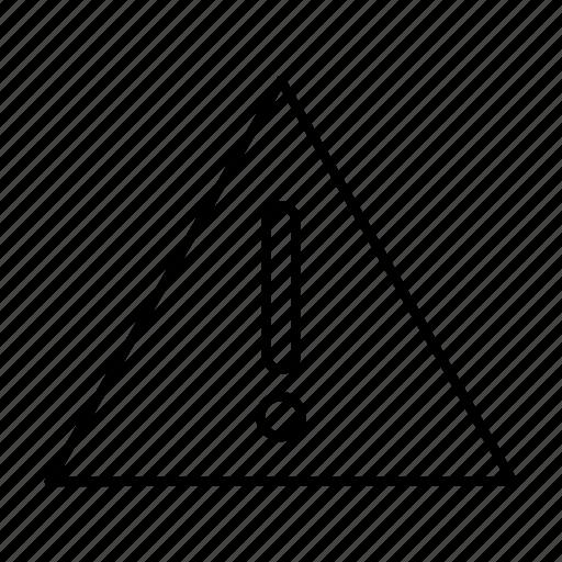 danger, error, sign, warning icon