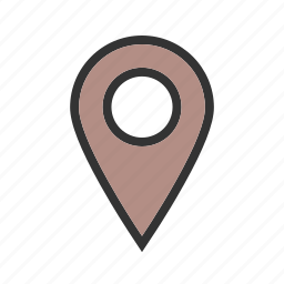 location, logo, map, marker, pin, place, travel icon