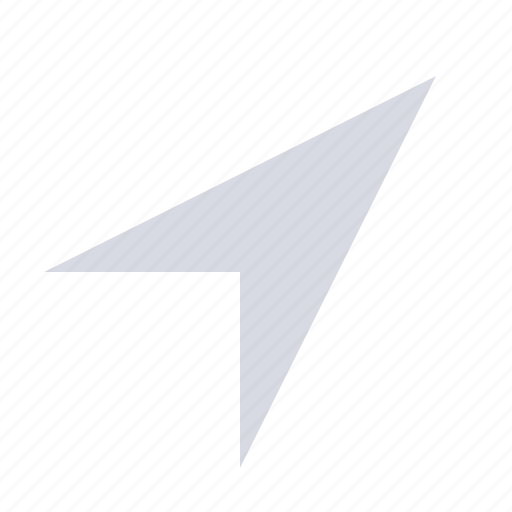 Arrow, direction, gps, location, map, navigation, place icon - Download on Iconfinder