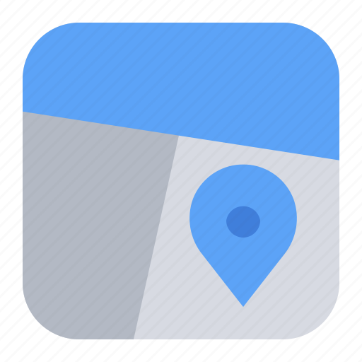 Area, gps, location, map, navigation, pin, place icon - Download on Iconfinder
