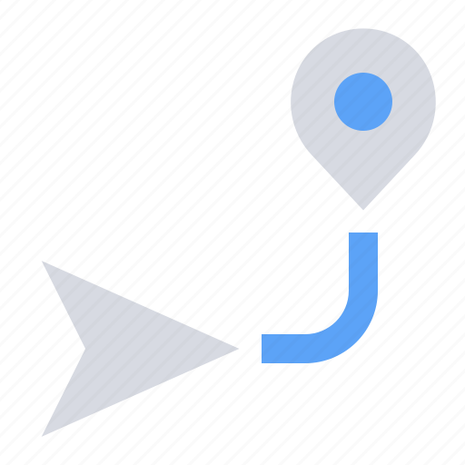 Direction, gps, location, map, navigation, pin, place icon - Download on Iconfinder