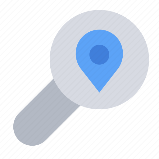 gps, location, map, navigation, pin, place, search icon