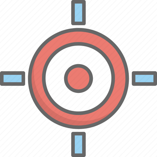 location, map, navigation, target icon