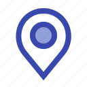 fill, location, map, mark, navigation, pin, place