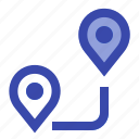 direction, map, navigation, pin, place, road, route