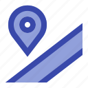 direction, gps, location, map, navigation, place, road