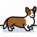 canine, corgi, dog, pet icon