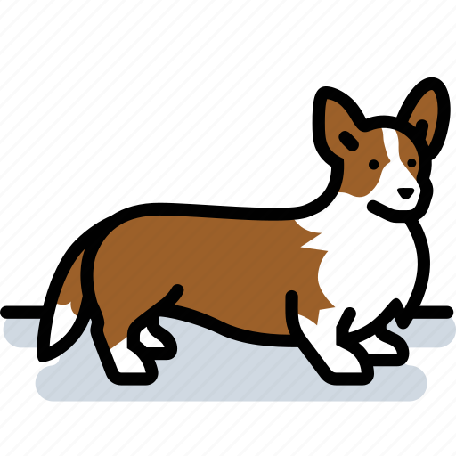 canine, corgi, dog, pet icon