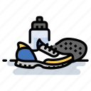 exercise, fitness, marathon, running, shoes icon