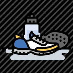 exercise, fitness, marathon, running, shoes icon