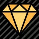 carnival, diamond, jewellry, mardi gras icon