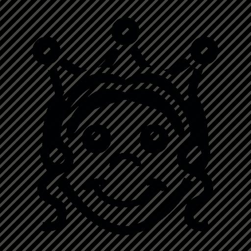 gras7, mardi, карона, лицо, маска, праздник, укращение icon