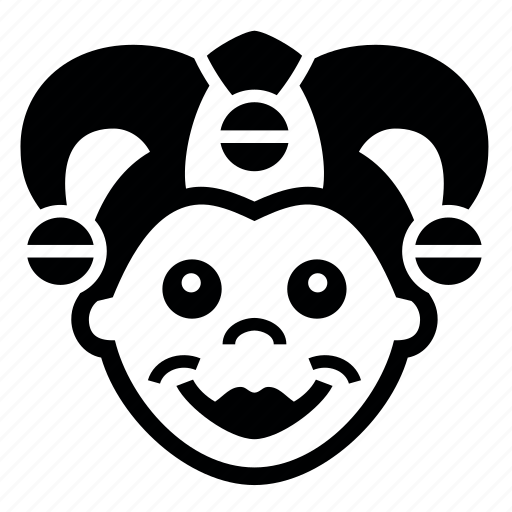 gras9, mardi, клоун, маска, праздник icon