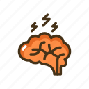brain, multiple, sclerosis icon