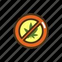 marijuana, quit, weed icon
