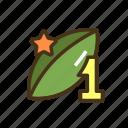 marijuana, seed, top icon