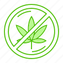 ban, cannabis, forbidden, marijuana, prohibited