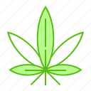 cannabis, drug, leaf, marijuana, weed icon