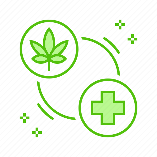 Cannabis, healing, marijuana, medical, therapy icon - Download on Iconfinder