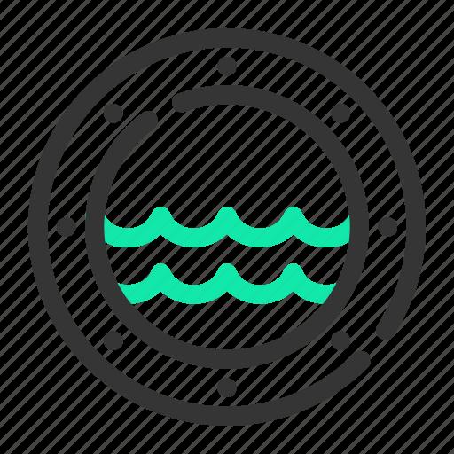marine, ocean, porthole, sea, ship, submarine, vessel icon