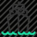 marine, ocean, sailing, sailor, sea, ship, transport icon