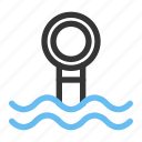 marine, ocean, periscope, sea, submarine, travel, underwater icon
