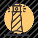direction, light, lighthouse, nautical, navigation, ocean, sea