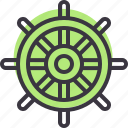 direction, nautical, ocean, sea, ship, steer, wheel