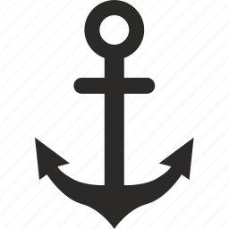 anchor, boat, marine, salor, sea, ship icon