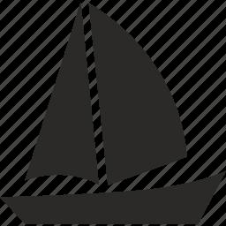 boat, marine, salor, ship, tourism, yahting icon