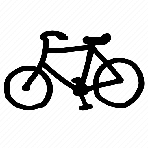 bicycle, eco, marker, pedal, pedestrian, transportation icon