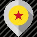 flag, map, marker, moheli icon
