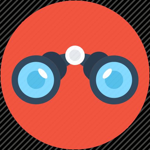 binocular, field glass, search, spyglass, view icon
