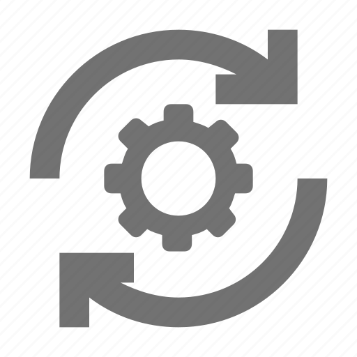 cog, cog synchronized, custom, gear, reprocessing icon
