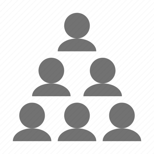 hierarchical, hierarchy, share, team, team structure icon