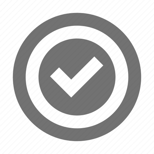 Checkmark right, confirm, good sign, tick, tickmark icon - Download on Iconfinder
