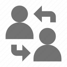 communication, connected people, discussion, social media, users icon