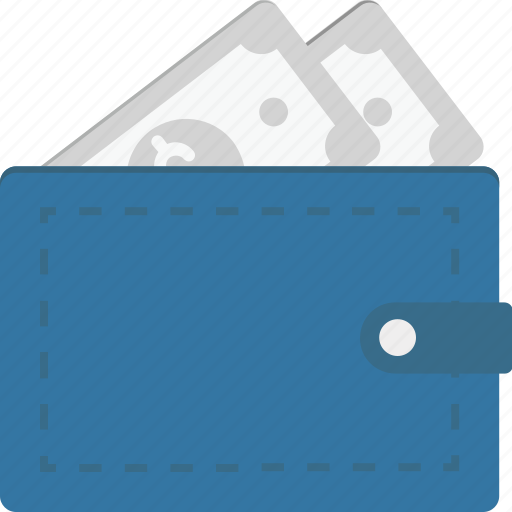 Billfold wallet, cash wallet, money wallet, purse, wallet icon - Download on Iconfinder