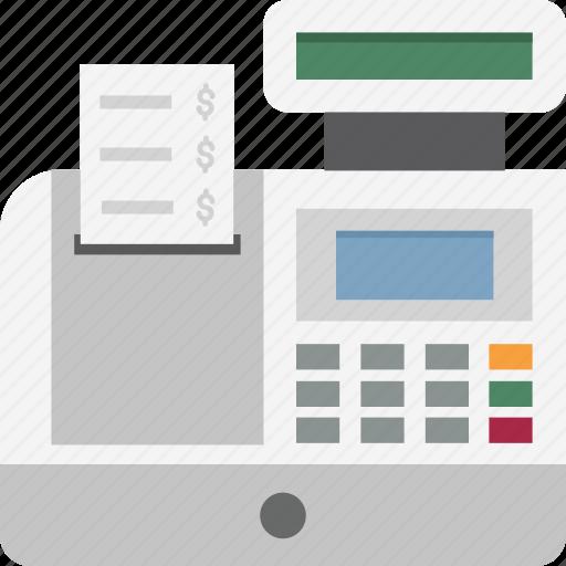 Cash register, cash till, point of sale, pos, till supplier icon - Download on Iconfinder